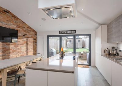 Rustic tiles & modern kitchen job done by RT..