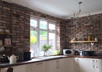 everyone likes brick ..... it looks good/Rustic Tiles UK Ltd